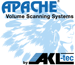 Apache Logo - Volume Scanning System by AKL-tec
