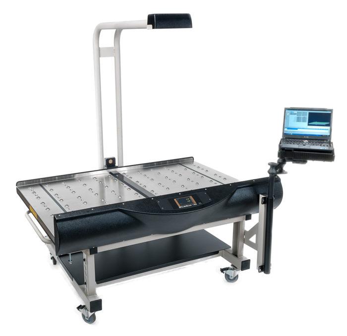 Hier sehen Sie unseren CubiScan 150 - Ein vielseitiges System zur Dimensions- und Gewichtserfassung.