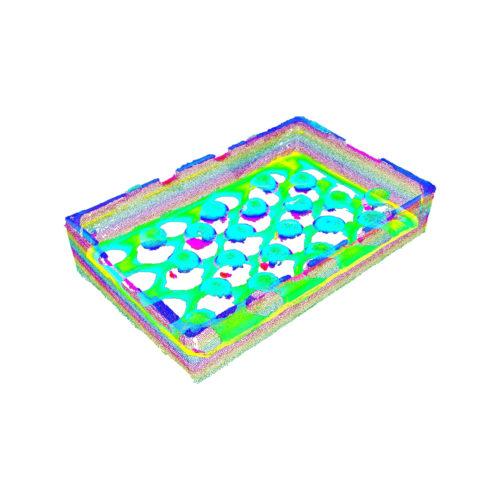 3D-Punktwolke Kollo
