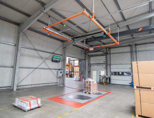 Schenkelberg Logistik setzt auf Frachtmesssystem von AKL-tec