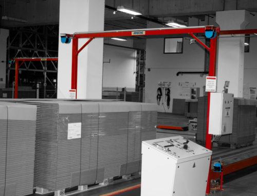 Hochregallager für Wellpappenverpackungen optimal vollautomatisch betreiben